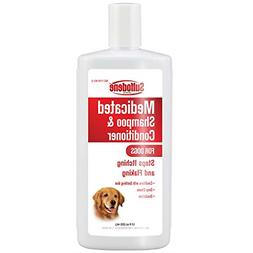 medicated shampoo and conditioner for dogs stop