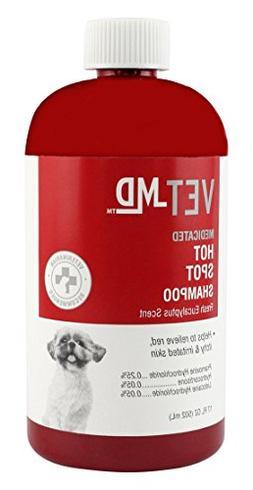 VetMD Medicated Hot Spot Shampoo For Dogs   Best Dog Shampoo