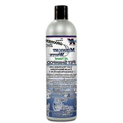 Groomers Edge Midnight White Dog and Cat Shampoo, 16-Ounce