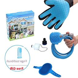 Multi-Functional Pet Bathing Tool Adjustable Handheld Dog Sh