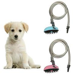 Multifunctional Pet Dog Cat Shower Head Shampoo Brush Groomi