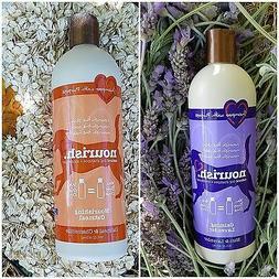 Nourish Natural Dog Shampoo + Conditioner 16Fl.Oz. Mint/Lave