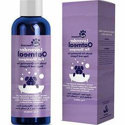 Colloidal Oatmeal Dog Shampoo with Pure Lavender Essential O