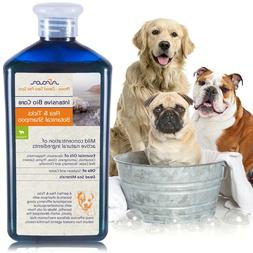 Puppy Flea and Tick Shampoo for Dogs Control Natural Organic