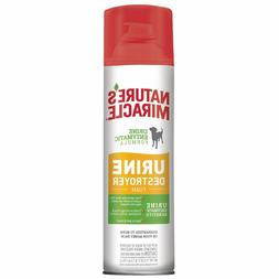 Nature's Miracle Pet Stain and Odor Remover Foam Aerosol Spr