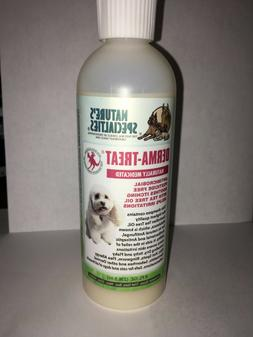 Nature's Specialties Derma Treat Shampoo for Dogs Cats 8 Oun