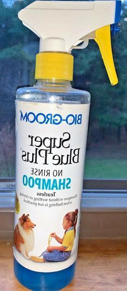 No Rinse Tearless Pet Shampoo - Dog & Cat No Water/No Rinse