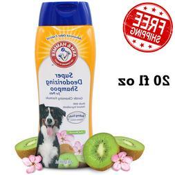 Arm & Hammer Super Deodorizing Natural Dog Shampoo for Puppi