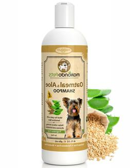 Oatmeal Dog Shampoo with Aloe Vera Hypoallergenic for Dry or
