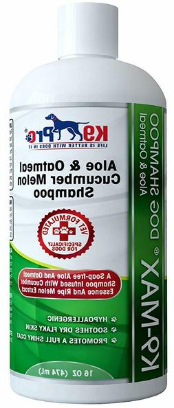 Oatmeal Dog Shampoo For Dogs With Allergies & Dry Itchy Sens