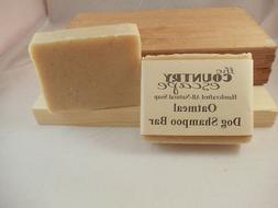 Oatmeal Dog Shampoo - Handcrafted - Organic - Vegan - Natura