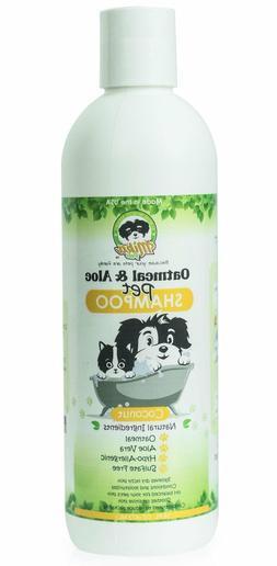 oatmeal dog shampoo with aloe vera hypoallergenic