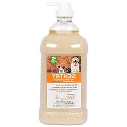 SENTRY Oatmeal Flea and Tick Shampoo for Dogs, 64 oz