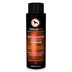 Petology Natural Oatmeal Dog Shampoo - Calming and Moisturiz