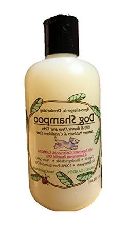 Organic DOG/cat Shampoo - All Natural - Biodegradable - No G