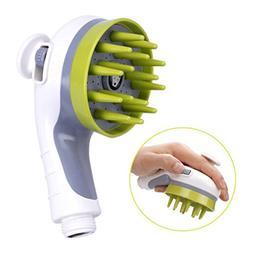 Jlxl Pet Bath Massage Brush, Washing Sprayer Massager Beauty
