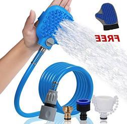 Zenerics Pet Bathing Tool with FREE Pet Grooming Glove Gift: