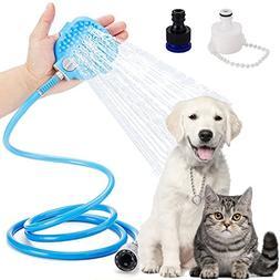 Corpower Pet Shower Kit 3 in 1, Pet Bathing Tool, Dog Shower