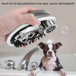 Pet Dog Cat Bath Shower Sprayer Head Shampoo Brush Massager