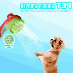 Pet Dog Shower Bath Head Sprayer Shampoo Brush Bath Healing