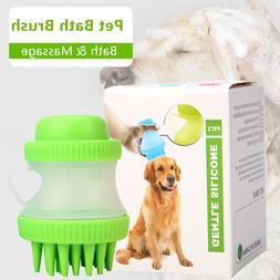 Pet <font><b>Dog</b></font> Cat Bath Massage Brush, <font><b