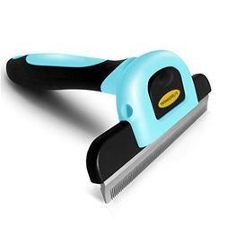 DakPets Deshedding Brush-Dog Hair & Cat Hair Shedding Tool w