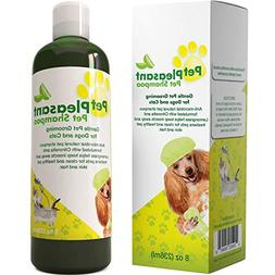 Natural Pet Shampoo for Dogs & Cats Flea and Tick Repellent
