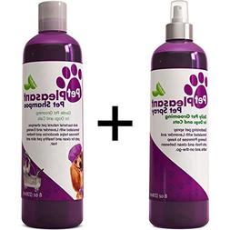 Pet Shampoo & Spray for Cats & Dogs Lavender + Evening Primr