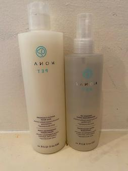 Pet Shampoo Duo Gentle Cleansing Dog Wash and Freshen Up Deo
