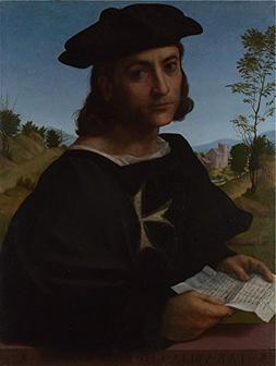 The Polyster Canvas Of Oil Painting 'Franciabigio Portrait O