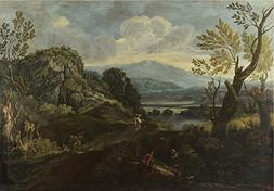 The Polyster Canvas Of Oil Painting 'Crescenzio Onofri Lands