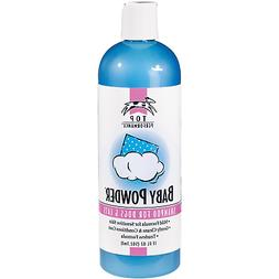 Top Performance Baby Powder Pet Shampoo in 17 Oz. Size for B