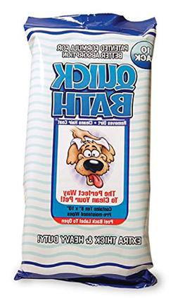 Quick Bath Dog Wipes, Reduces Odor & Bacteria with All-Natur