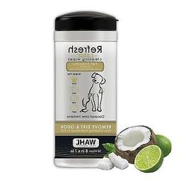 Wahl Refresh Cleaning Wipes, Coconut Lime Verbena #820017