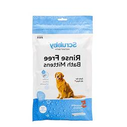 ScrubbyPet No Rinse Pet Wipes- Use Pet Bathing, Pet Grooming
