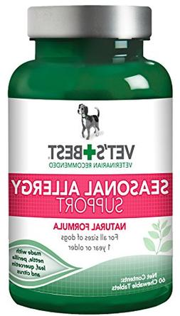 Vet's Best Seasonal Allergy Relief | Dog Allergy Supplemen