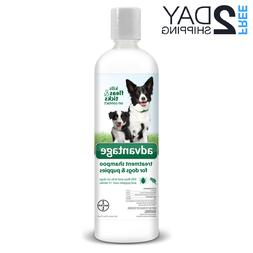 Advantage Shampoo Flea and Tick Treatment For Dogs Over 12 w