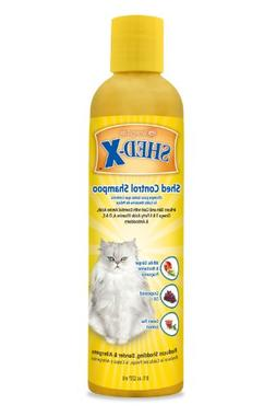 SynergyLabs Shed-X Shed Control Shampoo for Cats; 8 fl.oz.