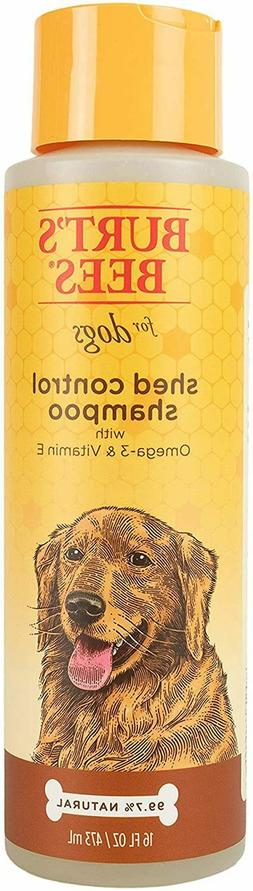 Burt's Bees for Dogs Natural Shed Control Shampoo with Omega
