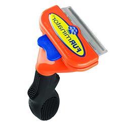 FURminator® Short Hair deShedding Dog Tool size: Medium