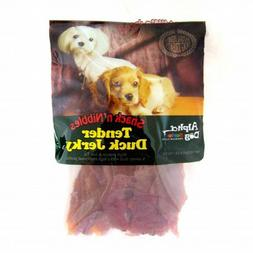 Alpha Dog Series Single Duck Treats, Tender Duck Jerky, 4 Oz