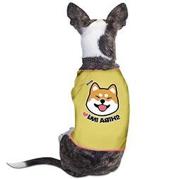 Richard Lyons Fashion Sleeveless Pet Supplies Dog Cat Clothe