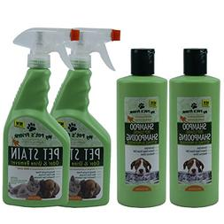 My Pet's Friend Stain Odor & Urine Remover 24 FL OZ  and Sh