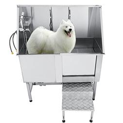 Vevor 50 Inch Professional Stainless Steel Pet Grooming