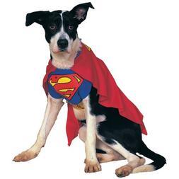 Superman Dog Halloween Costume Pet Size Small 10-12
