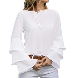XOWRTE Sweatshirts for Women Cute Graphic White Zip Up Hoodi