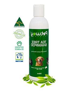 PETWAY Petcare Tea Tree Shampoo – Natural Dog Cleansing an