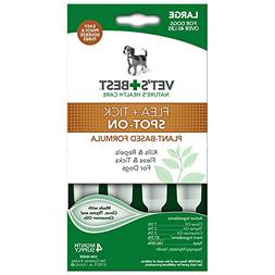 Vet's Best Topical Flea & Tick Treatment for Dogs over 40lbs