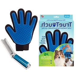Allstar Innovations True Touch Five Finger Deshedding Glove-