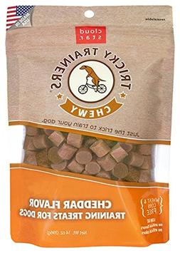Cloud Star Tricky Trainers Chewy Dog Treats - Cheddar Flavor